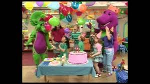 barney theme song season 1 hd youtube