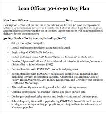 90 day business plan template 30 60 90 day plan template 8 free