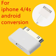 android to apple micro usb charger adapter usb cable for apple 4 4s 1 2 3