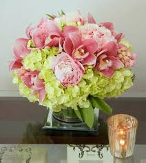 los angeles florist orchids and peonies happy together my los angeles florist in