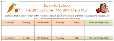 lunch box planner template healthy lunch box packing ideas when you re on the go