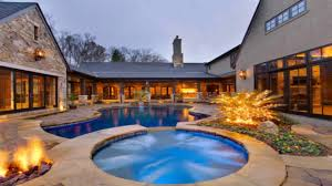 Home Plans With Pool by L Shaped House Plans With Courtyard Pool Youtube