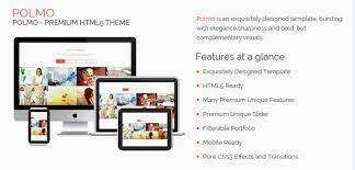 polmo one page free html5 responsive website template jewel theme