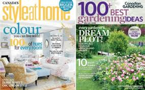 Home Design Magazines Canada Wagjag Canada 11 For Style At Home Or Canadian Gardening Magazine