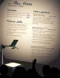 Online Instructor Resume by 60 More Fresh Artistic And Unusual Resume Designs For Your