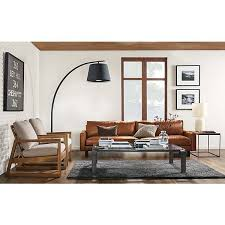 Living Rooms With Leather Sofas Beautiful Room And Board Leather Sofa 13 Reese Sofa Room And Board