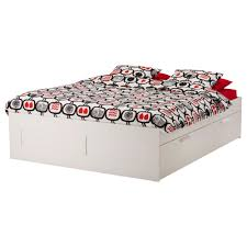 brimnes bed frame with storage white bed frames storage and