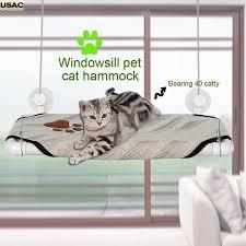 Resting Space Cat Window Hammock Pet Cat Window Perch Cozy Window Bed Stable