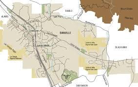 Mt Diablo State Park Map by Getting Around Danville Local Danville California Maps