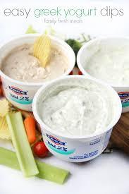 dips cuisine easy yogurt dips 3 ways family fresh meals