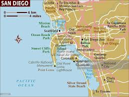 Maps San Diego by Map Of San Diego Stock Illustration Getty Images