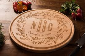 engrave gifts personalized wedding gift wood cutting board engraved gift for