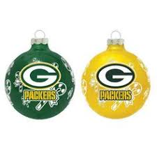 green bay packers silver ornament silver