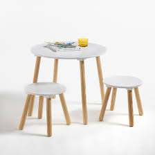 childrens table and stools mesa e 2 bancos jimi para criança ideias deco pinterest white