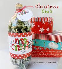 it u0027s written on the wall christmas cash gift idea fill a soda