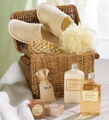 spa gift basket vanilla spa bath gift basket