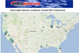 Arizona Map Of Cities by Photo Enforced Map Of Cities That Have Removed Red Light Camera