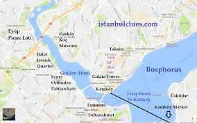 Istanbul Map Istanbul Tourist Attractions Mapistanbul Tour Guide New Zone