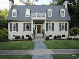home design popular tasteful exterior ideas grey painted