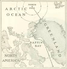 North Pole Map Digital History Project Moving On The North Pole Lieutenant