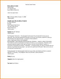 Business Letter Return Address how to address a business letter fishingstudio