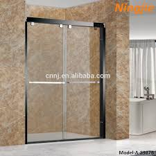 tempered glass shower door black glass shower doors black glass shower doors suppliers and