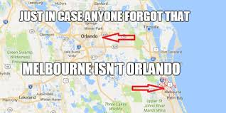 Winter Haven Florida Map by Melbourne And Orlando Airports Still Spar Over Name Oh And