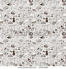 seamless pattern food food seamless pattern stock vector 2018 131951999 shutterstock
