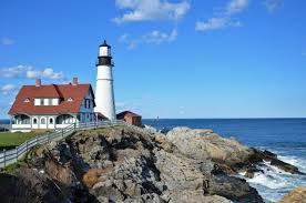 Portland Me Map by Visit 6 Lighthouses Near Portland Maine