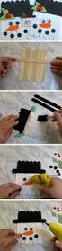 popsicle stick snowman craft snowman crafts snowman and craft