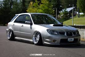 custom subaru hatchback one low wagon ben kell u0027s 2006 wrx lower standardslower standards
