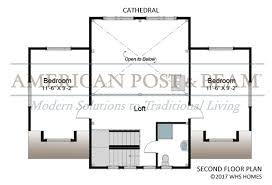 mountain lake floor plans american post u0026 beam homes modern
