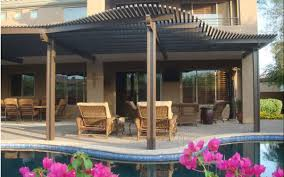 aluminum shade structures misting systems
