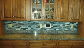 glass kitchen backsplash tile smoke gray glass subway tile backsplash in bright kitchen design