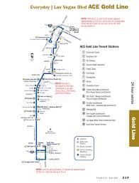 Metro Gold Line Map The Deuce Las Vegas Route Map Virginia Map