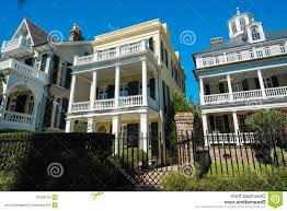 southern plantation style homes royalty free stock image southern