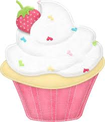 birthday clipart cup cake