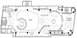 Third Floor Plan At Awesome Barbie Dolls Shanghai Store By Slade
