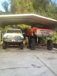 Ford Mud Trucks Gone Wild - 2 5ton 4 linked 87 chevy on 20