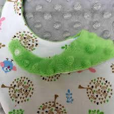 wholesales 10pc per lot minky dot fabric baby bib newborn