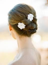 flower hair bun flowers in hair unsweetened