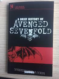 Avenged Sevenfold Flag Avenged Sevenfold Brief History Tshirtslayer Tshirt And