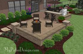 Patio Designs Pavers Remarkable Design Paver Patio Design Tasty Contrasting Paver Patio