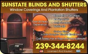 l shades ft myers fl sunstate blinds and shutters shades blinds fort myers fl