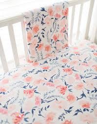 floral baby blanket peach baby blanket floral crib blanket