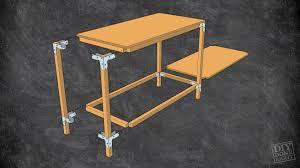 Heavy Duty Table by Heavy Duty Work Table Diy Done Right