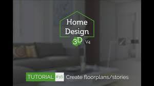 home design brand home design 3d tuto 16 create floorplans stories youtube