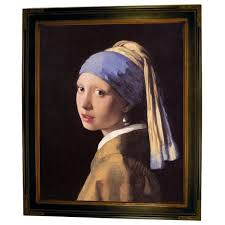 pearl earring painting historic gallery the girl with a pearl earring by johannes