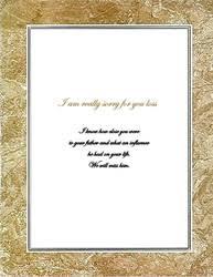 sympathy card wording loss of a sympathy cards templates clip wording