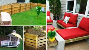 5 outdoor projects